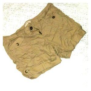 No Boundaries Khaki Shorts